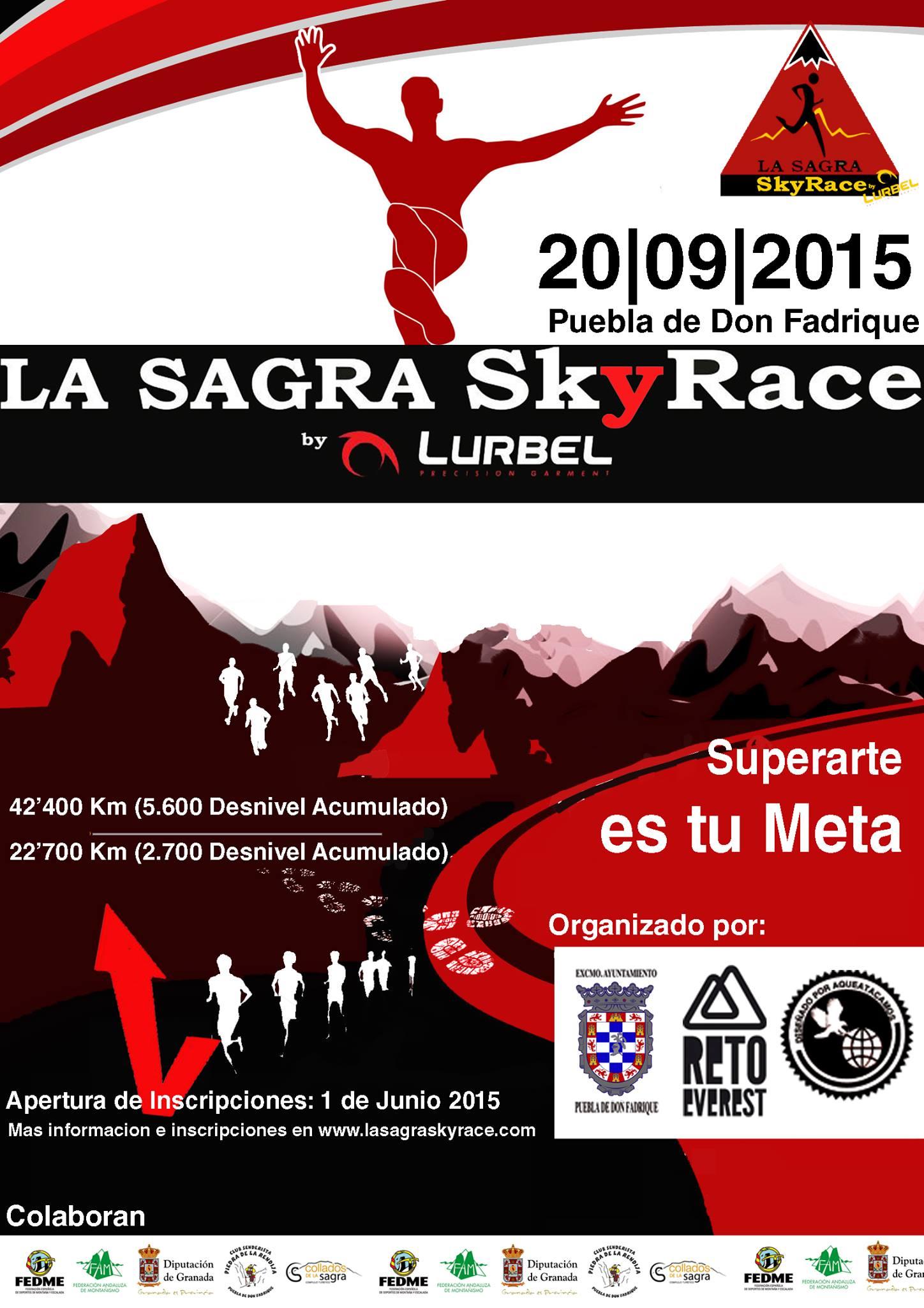 La Sagra Sky Race 2015