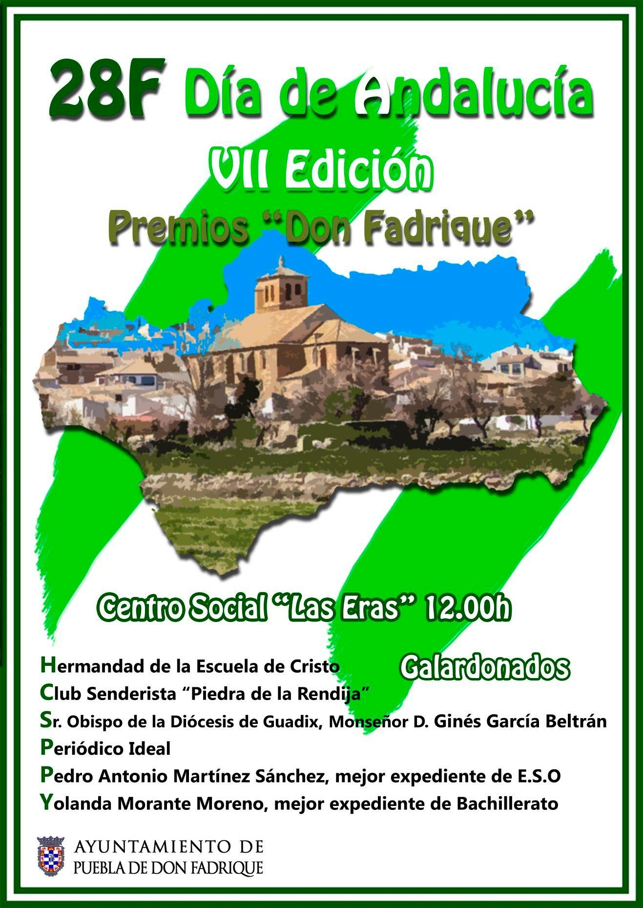 """VII Premios """"Don Fadrique""""."""
