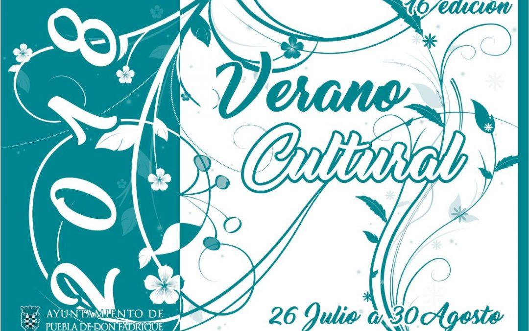 XVI Verano Cultural