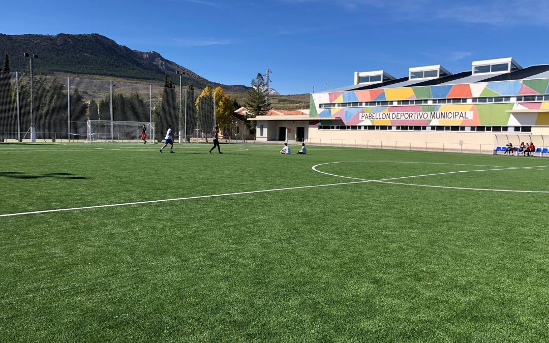 Puebla de Don Fadrique ya dispone de campo de fútbol de césped artificial.